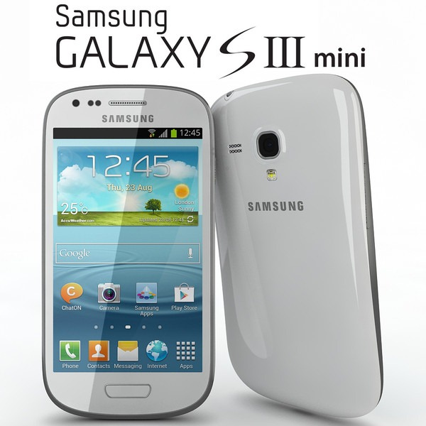 samsung galaxy s3 mini white 8gb unloked gt i8200 smartphone. Black Bedroom Furniture Sets. Home Design Ideas